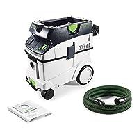 Festool CTL 36 E Cleantec elektrikli süpürge 574965, 1,2 W, siyah/yeşil