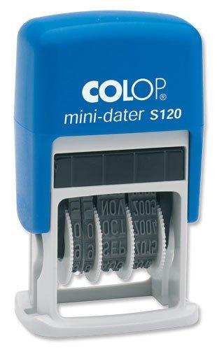Colop S120Mini timbro autoinchiostrante con data 12anni stampa 20x 3,8mm, colore 14520000