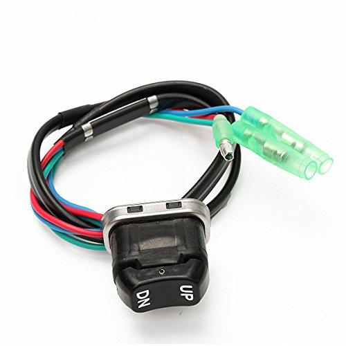 Alamor 703-82563-02-00 Trim & Tilt Switch-Baugruppe Für Yamaha Remote Controller (Pullover Leder Trim)