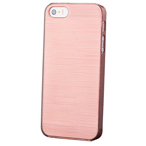 Apple iPhone SE / 5S / 5 | iCues Hard Candy Case Rosa | [Display Schutzfolie Inklusive]  Schutzhülle Hülle Cover Schutz (Cases Hard Candy)