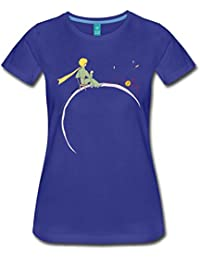 Spreadshirt Little Prince Looks At Sunset Women's Premium T-Shirt