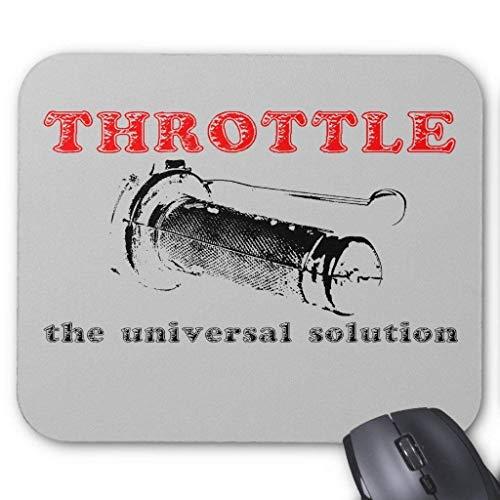 Throttle Solution Dirt Bike Motocross Mousepad (1 Dirt Bike Throttle)