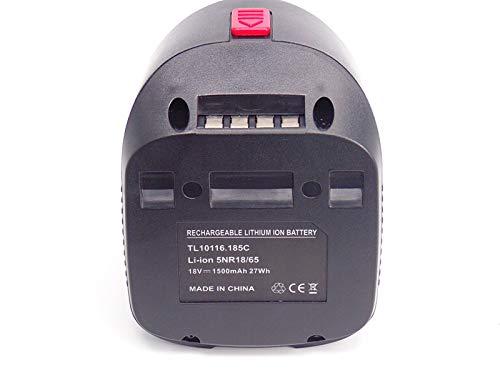FengBP®️18V 1500mAh Remplacer Werkzeug Akku für Bosch 18v Batterie li-ion, 2607336039, 2607335040 Ersatz Bosch AHS 48 LI AHS 52 LI ALB 18 LI ART 26 LI PAS 18 Li PAS18Li PML18LI PSB18LI-2 -