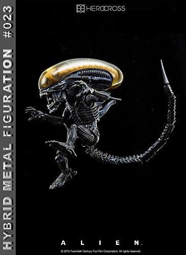 """[Configuracioen del metal hibrido """"Alien"""" # 023 altura extranjero de unos 14 centimetros pintado figura de accioen 3"""