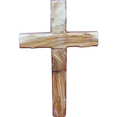 Zuluf Wall Hanging Olivewood Cross 25cm Wall Cross Christian Holy