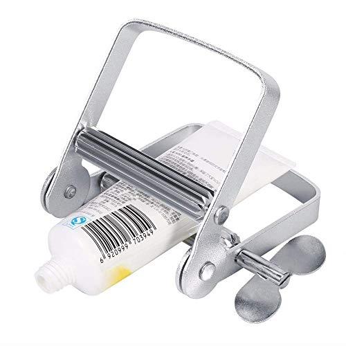 Exprimidor de pasta de dientes, metal inoxidable Dispensador de tubo de pasta de dientes Pigmento de pintura Dispensador de exprimidor de tubo de pasta de dientes, pigmento, crema de manos accesorios