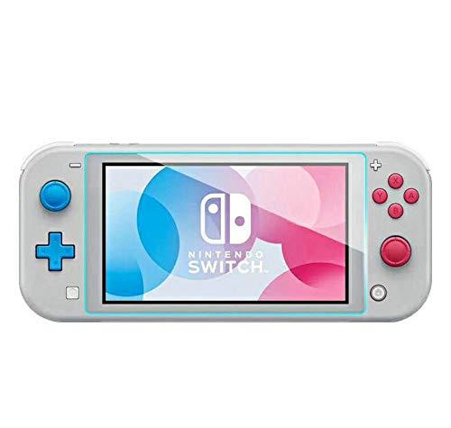 HEYSTOP Displayschutzfolie für Nintendo Switch Lite, Glassschutzfolien [0.24mm] - Displayschutz aus gehärtetem Glas 2 Stück - für das 5.5 Zoll Tablet Display der Nintendo Switch Lite Konsole Da-lite-switch