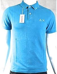 Sun68 - T-shirt - Homme bleu bleu ciel