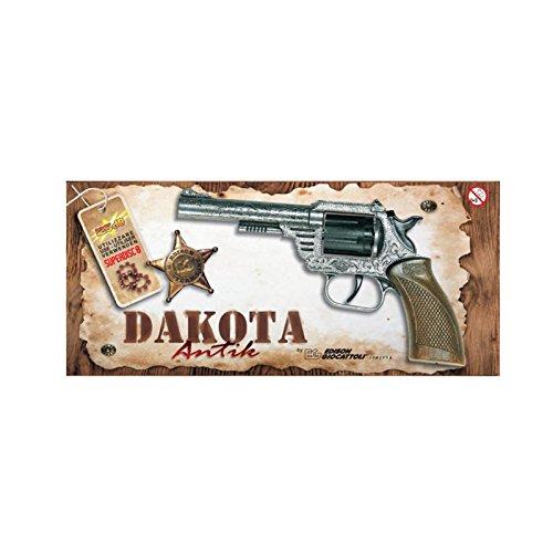 NEU Cowboy-Pistole Dakota, 8-Schuss-Colt (Dakota Kostüme)