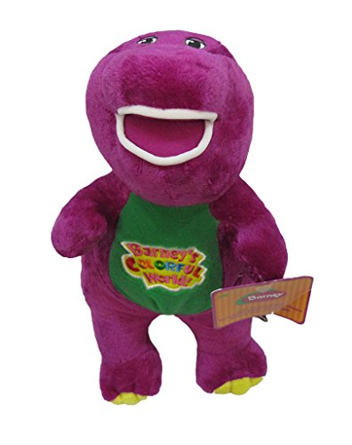 Good Night Good Dream Lovely purple Barney Singing `` I Love You`` plush doll toy gift
