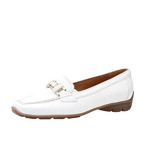Gabor 65.334.21 Damen Leder Sandalen weiss Weiß