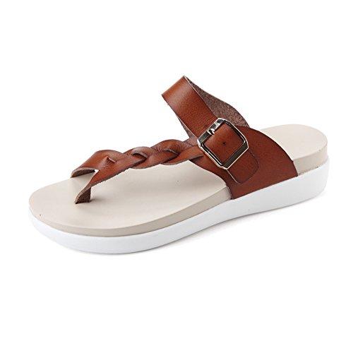 NiNE CiF - Scarpe con cinturino alla caviglia da ragazza' donna Brown