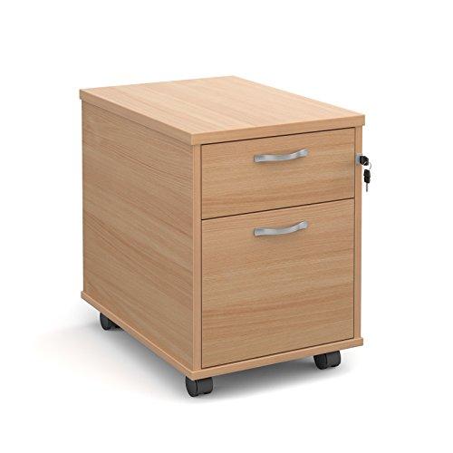 Büro Elefant oe05-r2mb Zwei Schublade Mobile Ständer mit Ein und eine Abheften Schublade, die