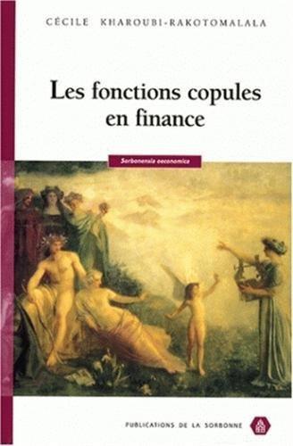 Les fonctions copules en finance
