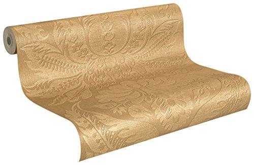 Rasch Tapeten Rasch Vlies-Tapete mit floralen Ornamenten in gold, Trianon XI, 515268