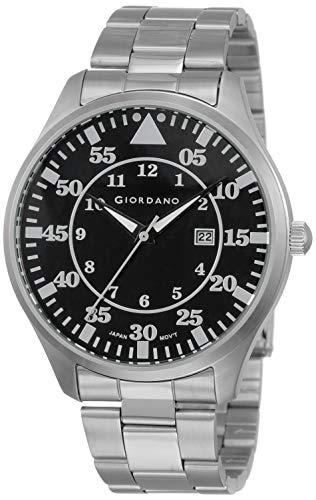 Giordano Analog Black Dial Men's Watch - 1771-11