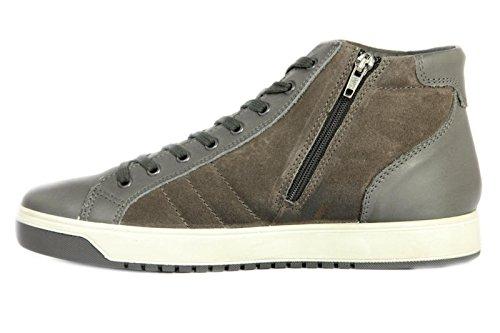 IGI&CO Sneakers Camoscio Uomo Grigio Venta Llegar A Comprar 5vCTKN