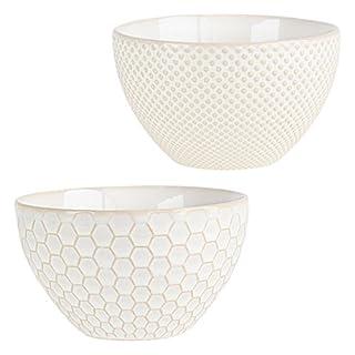 ASA 90406071 Porzellan Schalen 12,50 x 12,50 x 7 cm 2 Einheiten, weiß