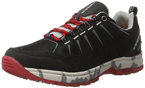 Ice Peak Wanja, Chaussures Multisport Outdoor Homme Noir (Black)