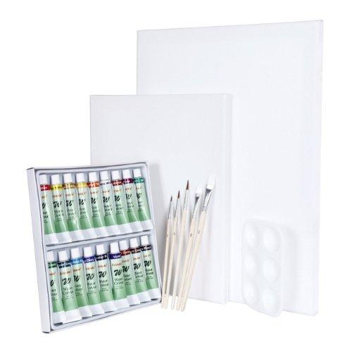 artina-lot-complet-pour-aquarelle-18-tubes-de-peinture-2-toiles-pinceaux-et-palette