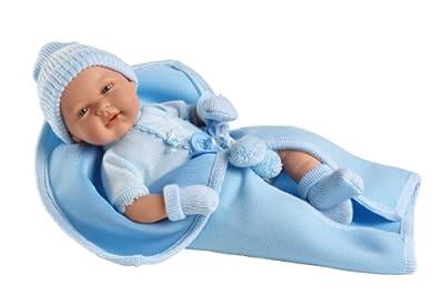 Muñecas Arias - Muñeco bebé llorón con mantita (65091) de Muñecas Arias