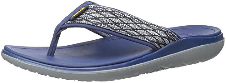 Teva Men's Terra-Float Flip Flop, azul marino, 45 D(M) EU/10.5 D(M) UK