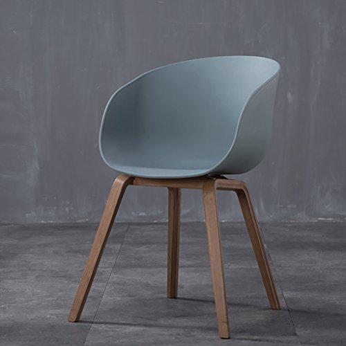 HHCS Holz Curved Holz Nordic Modern Minimalist Persönlichkeit Mode Montage Kaffee Stühle Esszimmerstühle Computer Stühle Freizeit Stühle Hocker & Stühle ( Farbe : D )