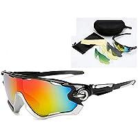 2d4b6efde9 AUMING Gafas de Ciclismo de Sol Gafas de Sol Deportivas para Hombre y para  Mujer Gafas