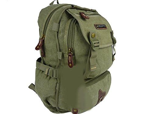 AOKING T115, großer Trekkingrucksack 35l Outdoor Rucksack 32x48x22 (grün khaki)