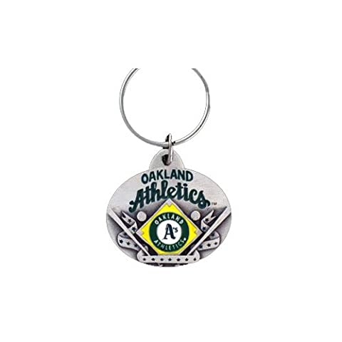 Oakland Athletics Oval Pewter