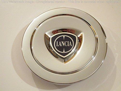 Lancia 1 COPPETTA COPRIMOZZO Delta YPSILON MUSA Stemma Originale BORCHIA Tappo Cerchio in Lega
