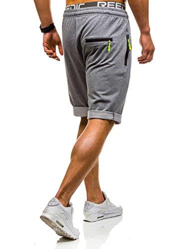 BOLF – Pantaloni sportivi – Jogging pantaloni – Uomo Grigio scuro