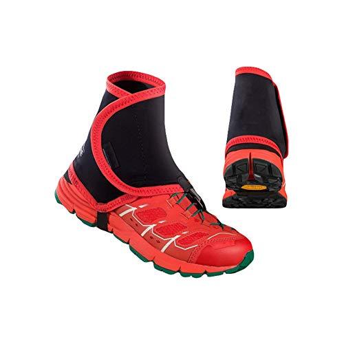 Yalatan Unisex Outdoor Trail High reflektierende Gamaschen, Sandproof Protector Schuh Kupfer für Laufen Jogging Marathon Wanderschuhe -