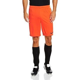 Nike - PARK II - KNIT NB - Short - Homme - Orange (Safety Orange/Black) - FR: L (Taille Fabricant: L)