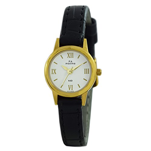 Maxima Gold  Analog White Dial Women's Watch - 32200LMLY image