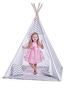 Woodyland 102191420 - Tienda de campaña Infantil, Color Blanco