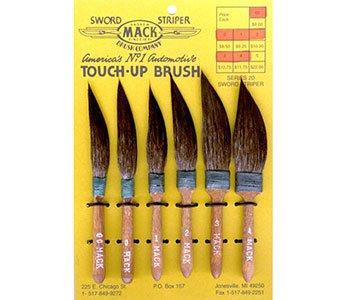 Mack: Serie 20Eichhörnchen Hair Sword Liner/Automotive Repair-Pinsel Nr. 1