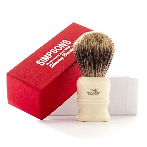 Simpsons Duke D3 Best Badger Hair Shaving Brush -