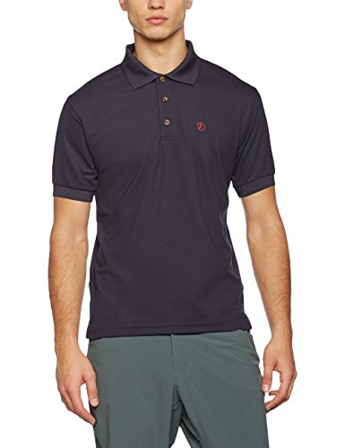 Fjällräven Herren Crowley Pique Shirt, Blueblack, M