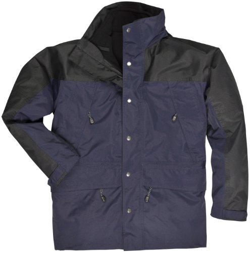 Portwest S532NARL - Grande orkney 3-in-1 giacca, blu / nero