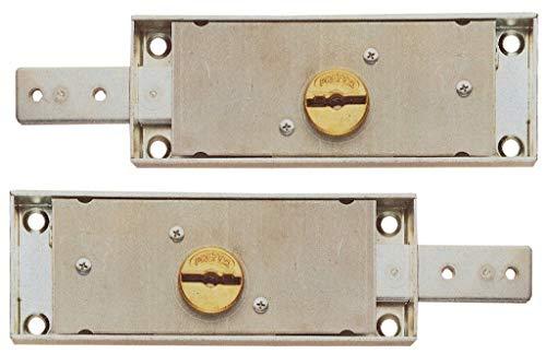 SERRATURA SICURA ACCOPPIATE X SERRANDA /0733 ACCOPPIATE Cartomatica Confezione da 1COPPIA