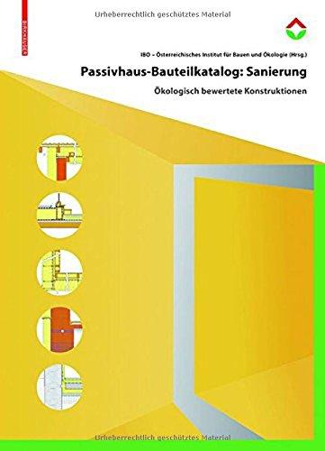 Passivhaus-Bauteilkatalog: Sanierung Cover Image