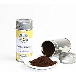 Natur Vanillepulver 40g / gemahlene Vanille Schoten/vom Vanille Shop/ideal zum Backen und würzen