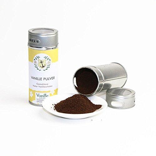 Natur Vanillepulver 40g/gemahlene Vanille Schoten/vom Vanille Shop/ideal zum Backen und - Aus Der Dose Hamburger