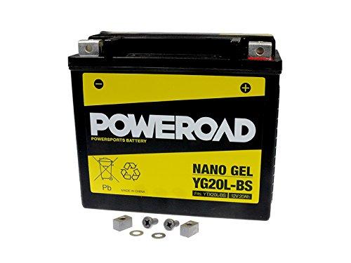 gel-batterie-poweroad-ytx20l-bs-20ah-fur-bombardier-buell-can-am-cectek-cfmoto-harley-davidson-honda