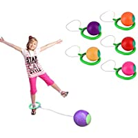 Gemini_mall® Funny Kids Children Ankle Skip Ball Exercise Hoop Jump Playground Toy Outdoor Game Gift