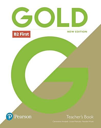 Gold first. Teacher's book. Per le Scuole superiori. Con espansione online. Con DVD-ROM