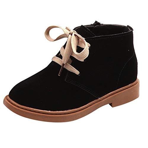 Beikoard_Babykleidung Mädchen Schnürung Plus SAMT Schnee Stiefel Dicke Stiefel England Wind Martin Stiefel Sneaker Boots Kinder Baby Casual Schneeschuhe