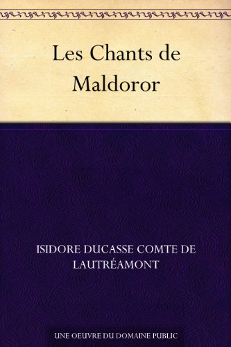 Couverture du livre Les Chants de Maldoror