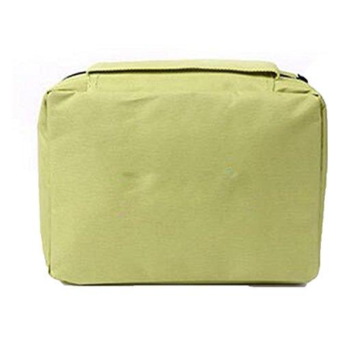 Jia Qing Sacchetto Cosmetico Di Lavata Portatile Multifunzionale Della Signora Sacchetto Cosmetico Universale Di Grande Capacità Orange